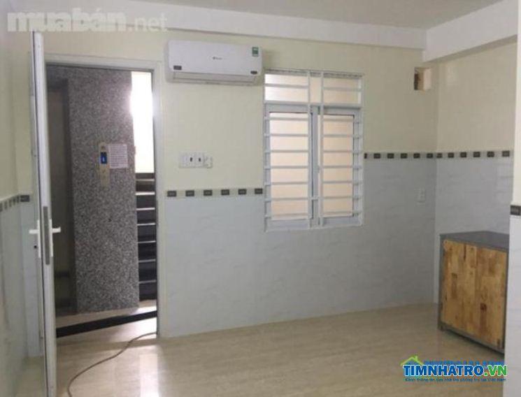 Phòng cho thuê dài hạn máy lạnh, gác, kệ bếp, wc , tân bình, cộng hòa