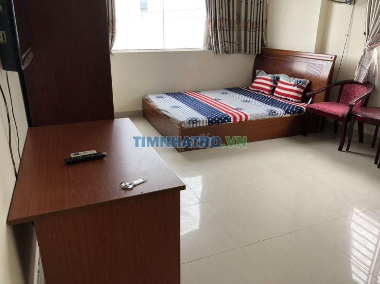 Phòng trọ mới: đầy đủ nội thất, đẹp như khách sạn
