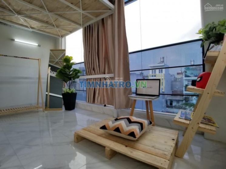 Phòng tiện nghi có gác, kệ bếp, tủ quần áo ngay cv phần mềm quang trung, 25m2 2.8 - 3.2 - 3.5tr/th