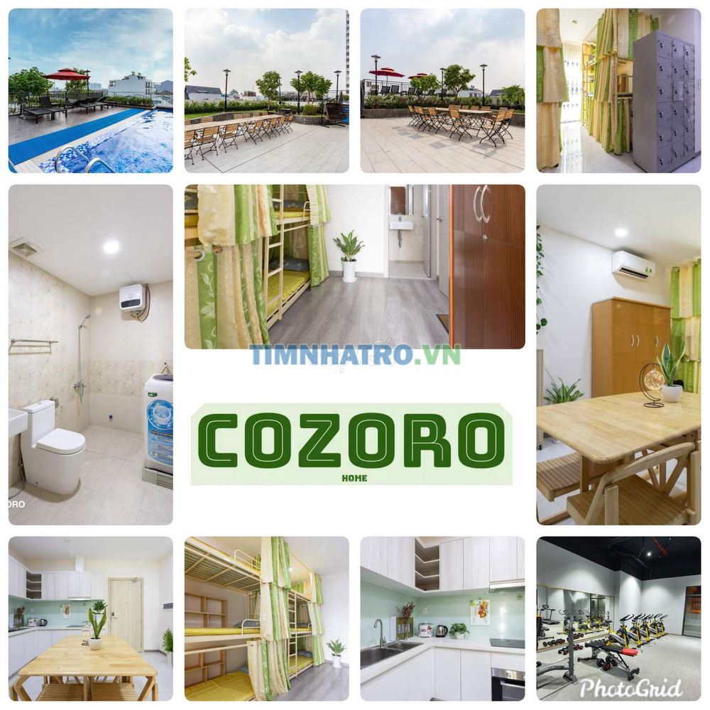 Cozoro dorm - ký túc xá cao cấp free hồ bơi & gym