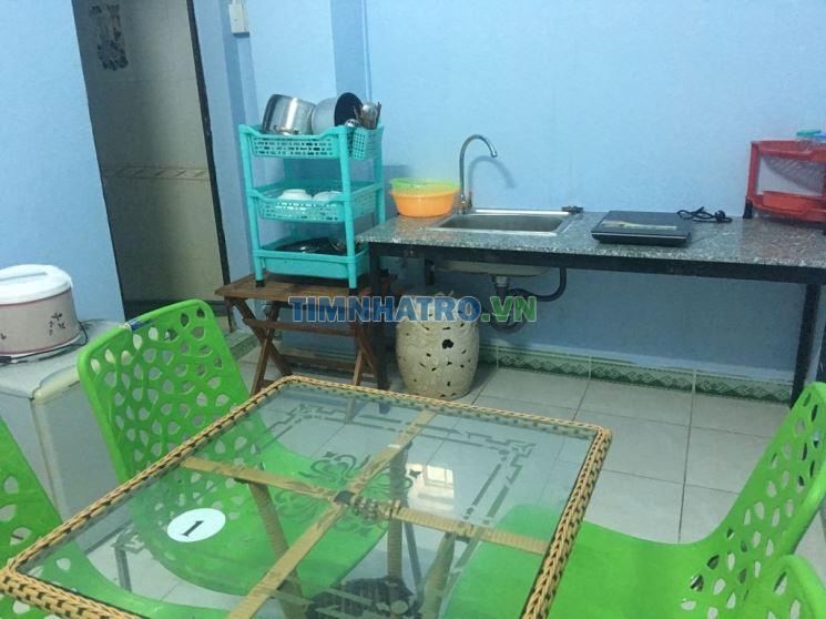 Phòng trọ full nội thất 1 pn, 1 bếp, 1 toilet