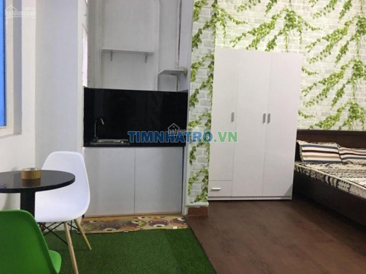 Căn hộ mini đầy đủ nội thất - gần cv hoàng văn thụ