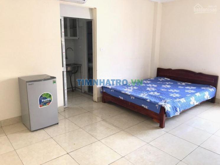 Cho thuê chung cư mini đầy đủ tiện nghi, dt: 30m2 ngõ 138 mễ trì thượng