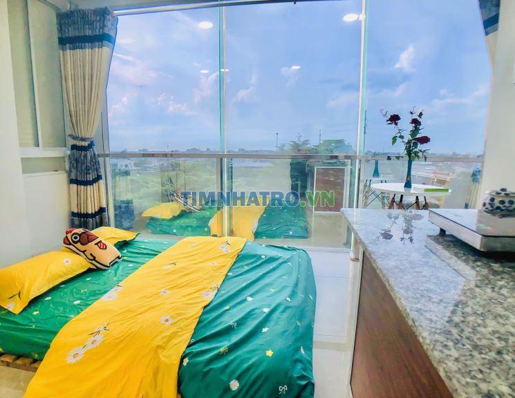 Phòng trọ cao cấp giá rẻ cho thuê 26m2 nội thất cơ bản giá rẻ hà huy giáp quận 12
