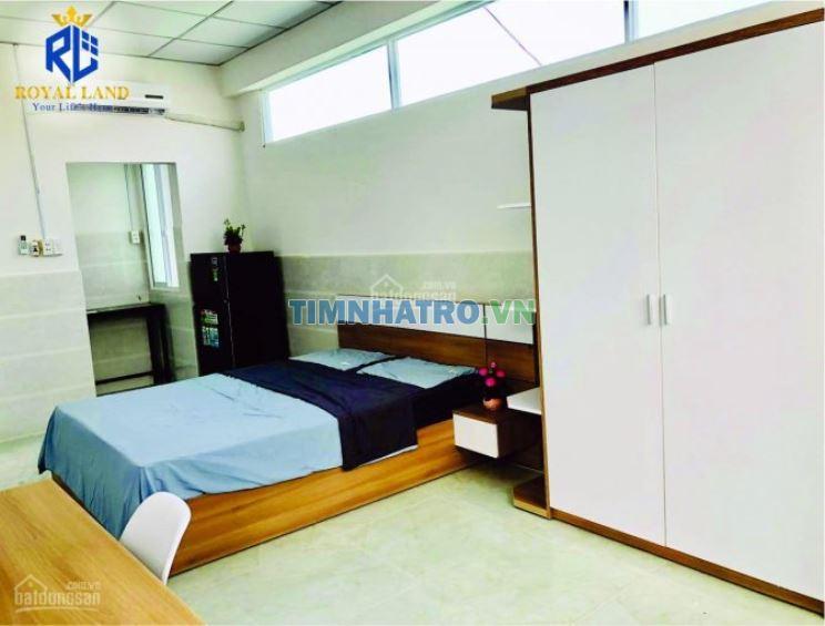 Phòng cho thuê mới xây 100% ngay ngã 4 hàng xanh, bảo vệ 24/24 sạch sẽ yên tĩnh