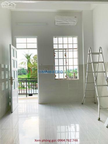 Cho thuê căn hộ mini mới xây dựng, dt 35m2 có máy lạnh sẵn, khu an ninh - yên tĩnh, gần gigamall thủ