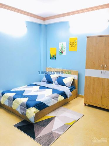Phòng full nội thất cho thuê giờ giấc tự do ngay trung tâm quận phú nhuận, đường ray xe lửa