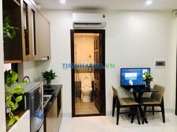 Cho thuê căn hộ chung cư mini trần thái tông xây mới 100% đầy đủ đồ
