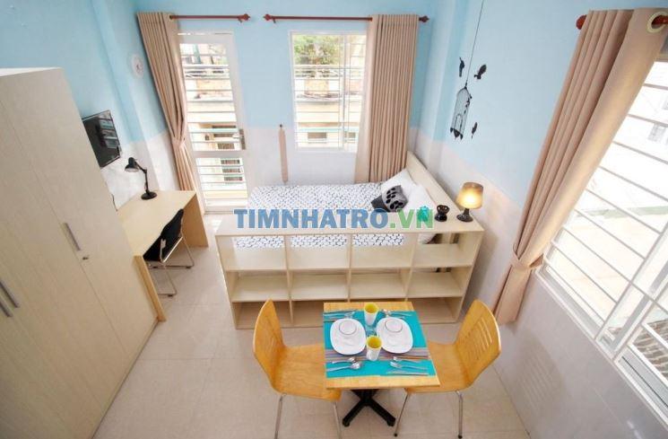 Phòng 30m2 trần hưng đạo - full nội thất cao cấp