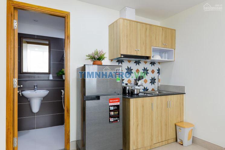 Cho thuê căn hộ full nội thất, 30m2 quận bình thạnh