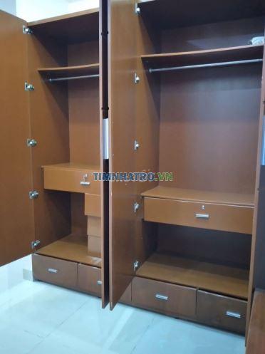Cho thuê phòng trọ nội thất q3 - 40m2 - 5.200.000 đồng