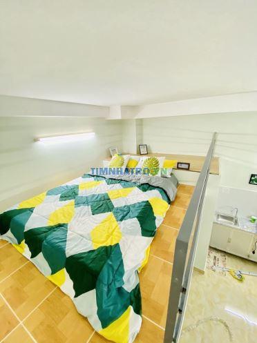 Phòng có gác full nội thất-nhà mới 100%